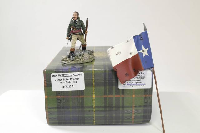 Picture Gallery for King  Country RTA33B James Butler Bonham & Texas Flag