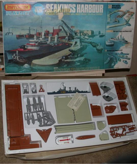 Picture Gallery for Matchbox PS3 Seakings Harbour