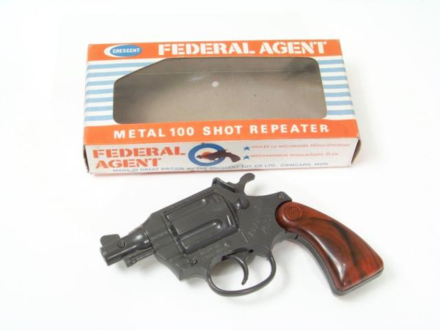 Picture Gallery for Crescent 137 Federal Agent Cap Gun