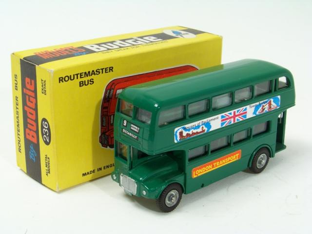 Picture Gallery for Budgie 236 Routemaster Bus