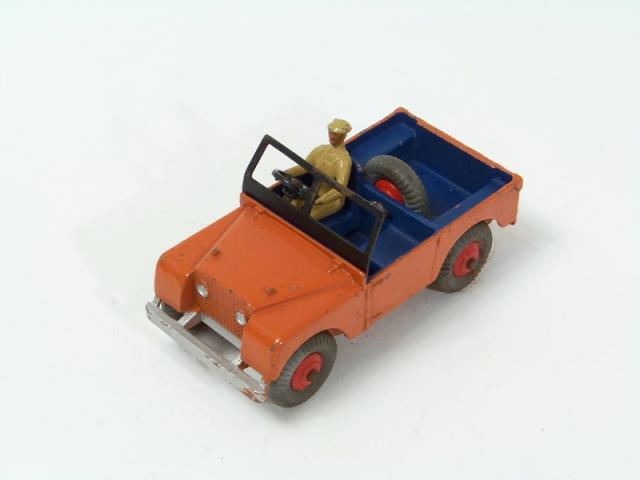 Picture Gallery for Dinky 27d Land Rover