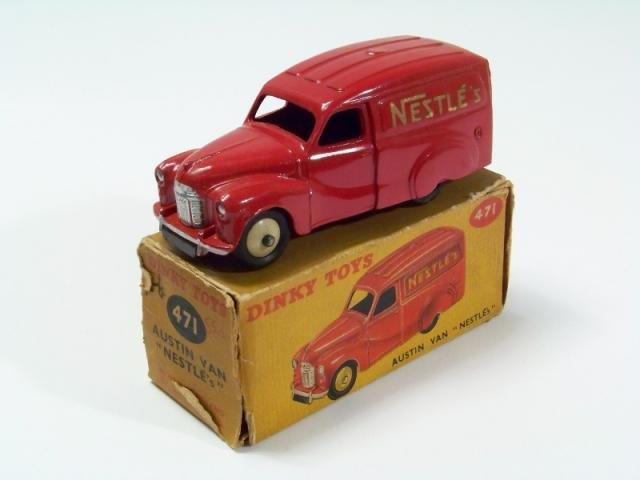 Picture Gallery for Dinky 471 Austin Van