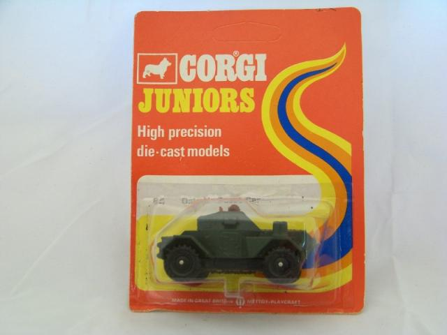 Picture Gallery for Corgi Juniors 84 Daimler Scout car