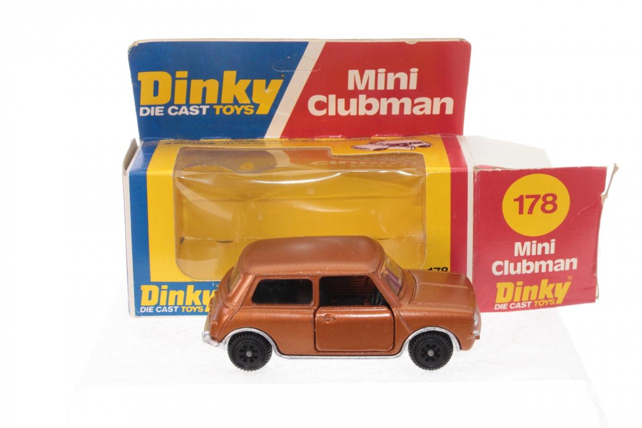 Dinky #178 -  Mini Clubman - Bronze (Card Box)