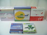 Picture Gallery for Trade-Mixed Lot 5 Aviation 200 Diecast Aircraft.