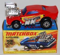Matchbox Lesney Superfast 48 Pi-Eyed Piper empty Repro I style Box