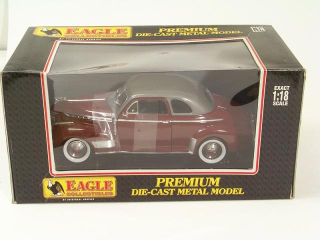 Picture Gallery for Eagle Collectibles 4356 Chevrolet Deluxe Coupe 41