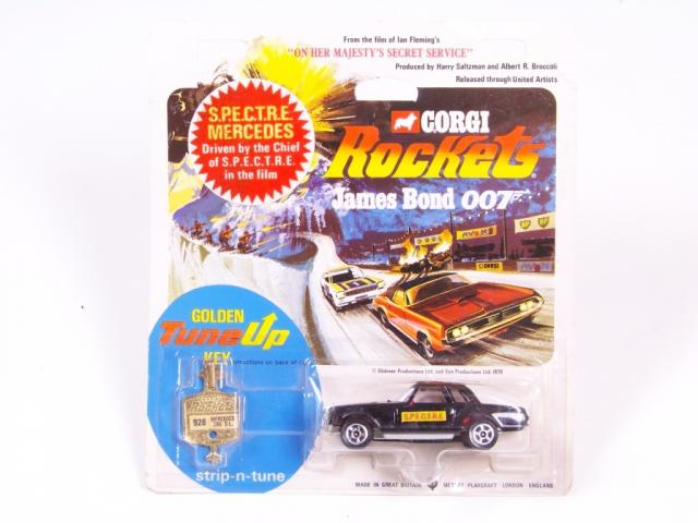 Picture Gallery for Corgi Rockets 928 James Bond Mercedes  280SL