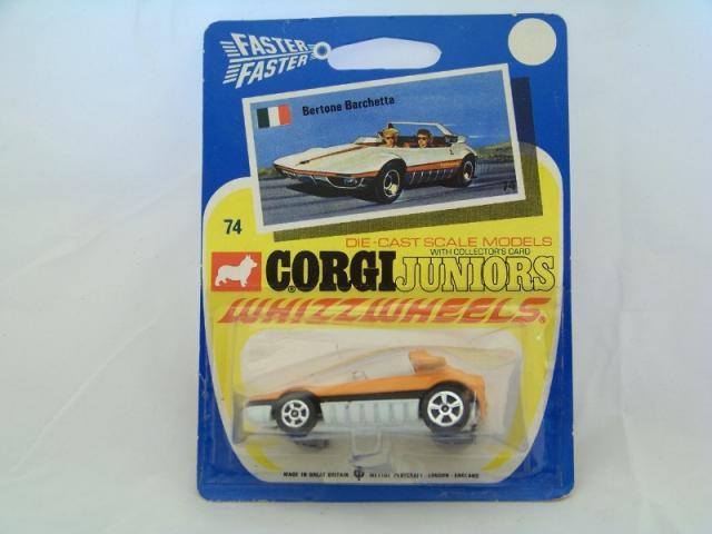 Corgi Juniors #74 - Bertone Barchetta - Orange