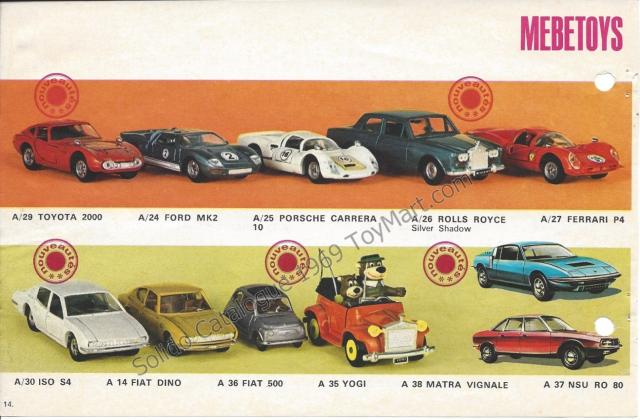 Picture Gallery for Mebetoys A36 Fiat 500