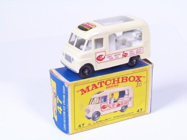 Picture Gallery for Matchbox 47b Commer Ice Cream Van