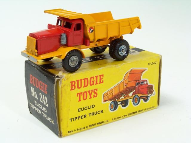Picture Gallery for Budgie 242 Euclid Tipper Truck