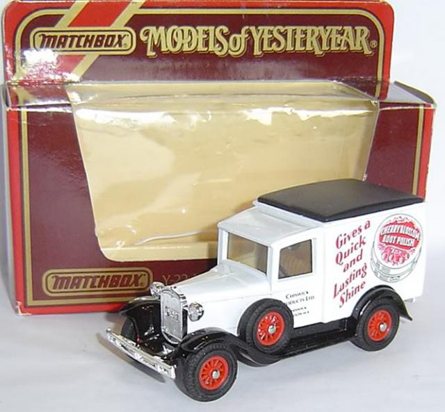 Matchbox Yesteryear moy ych07 ford a mcdonalds