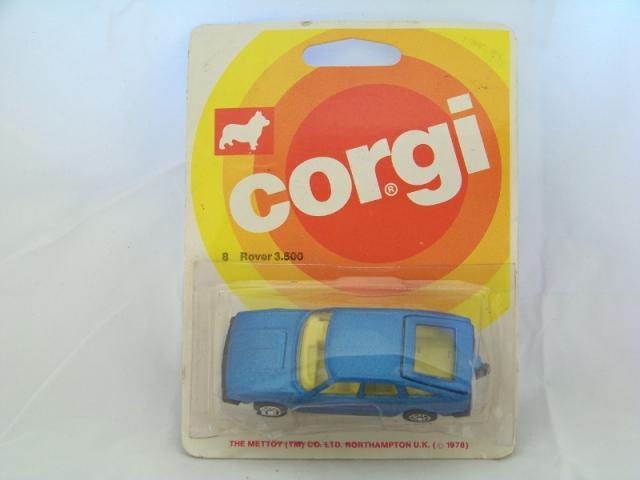 Corgi Juniors #8 - Rover 3500 - Blue