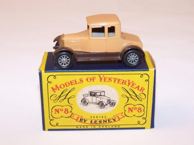 Picture Gallery for Matchbox Yesteryear Y8 Morris Cowley (Bullnose)