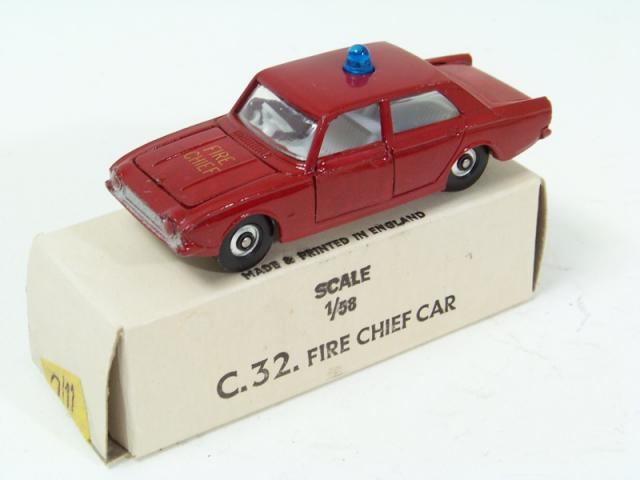 Picture Gallery for Lone Star 32 Fire Chief Car