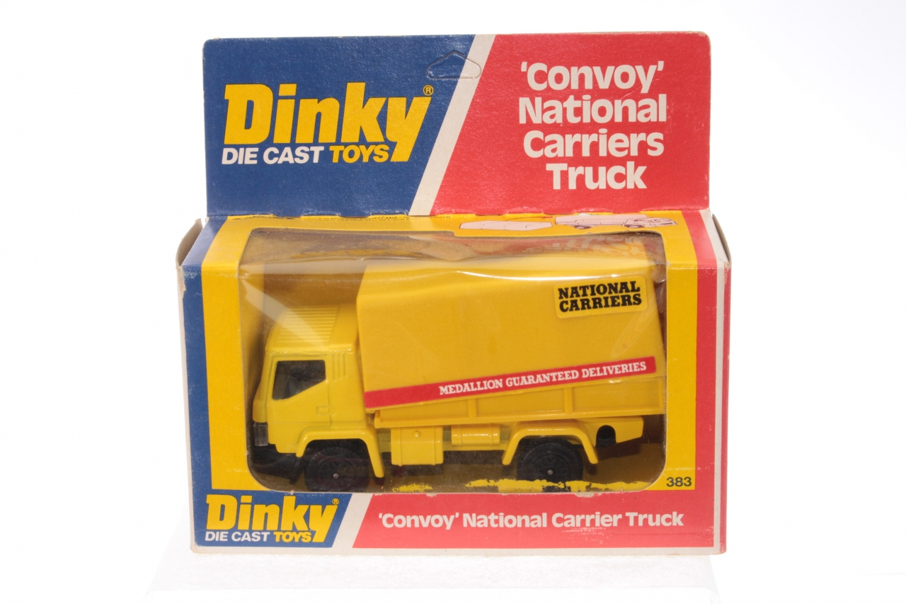 Dinky #383 - Convoy National Carriers Truck - Yellow