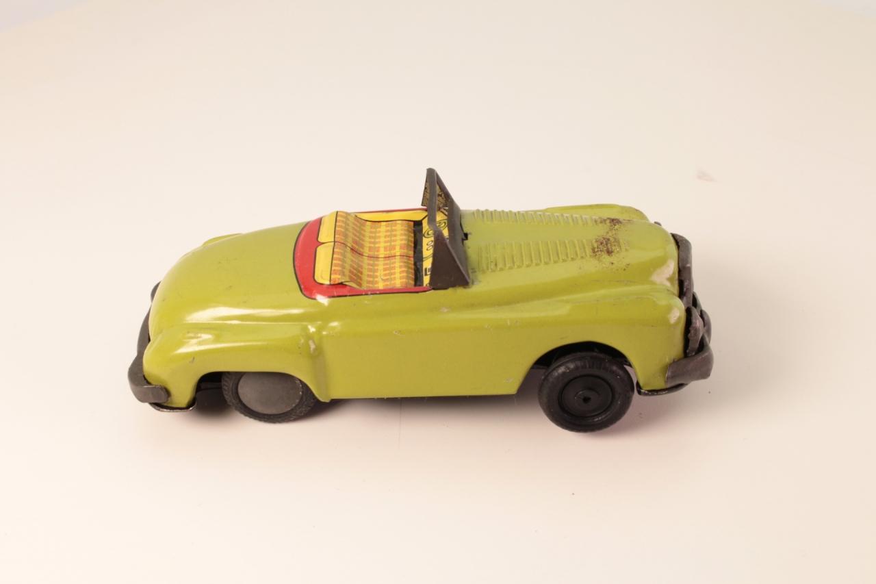 Tinplate # - Open Sports Car - Green