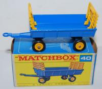 Picture Gallery for Matchbox 40c Hay Trailer