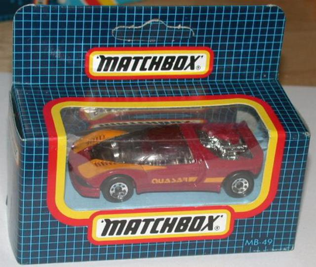 Matchbox 49f Peugeot Quasar Free Price Guide Review