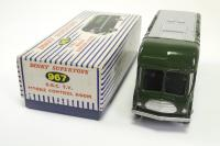 Dinky #967 - BBC TV Mobile Control Room - Green
