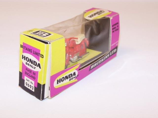 Picture Gallery for Britains 9693 Honda Benly