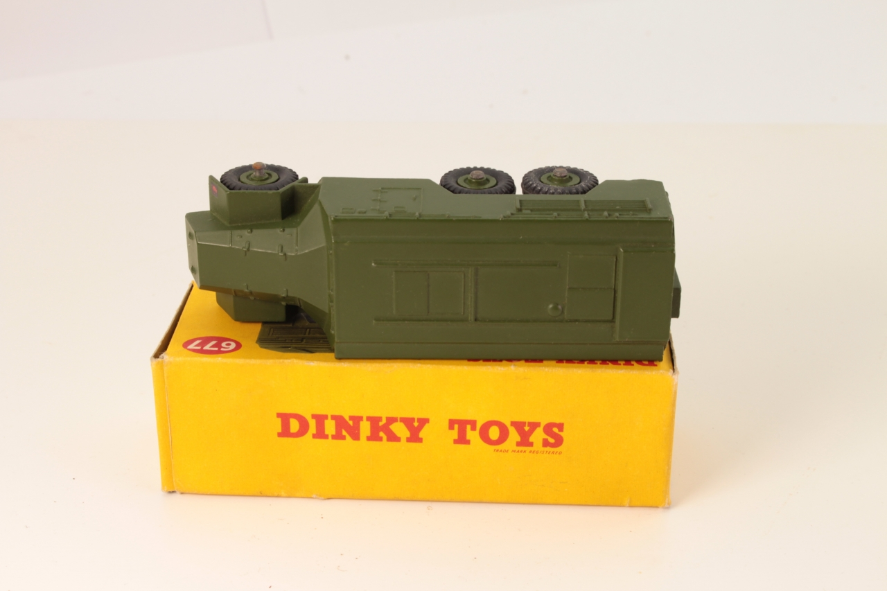 Dinky #677 - Armoured Command Vehicle - Green