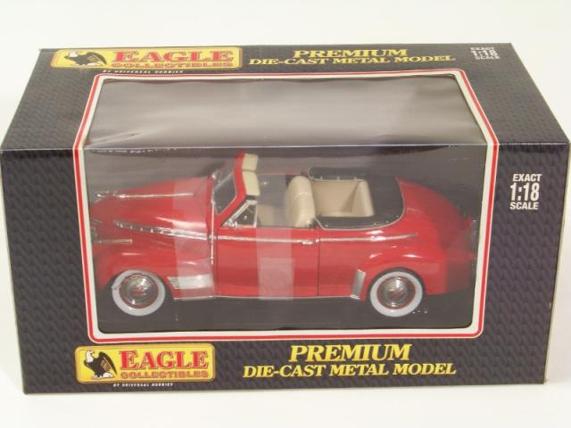 Picture Gallery for Eagle Collectibles 35106 1941 Chevvy Convertible