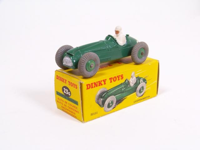 Picture Gallery for Dinky 23g Cooper Bristol Racing Car