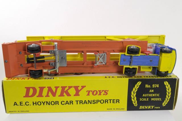 DINKY 359//360 riproduzione ROSSO GIALLO LATO BOOSTER x4