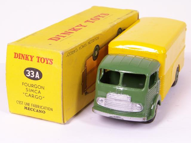 Cars Beautiful 829d Vintage Dinky 33an Simca Cargo Mover Bailly Rpt