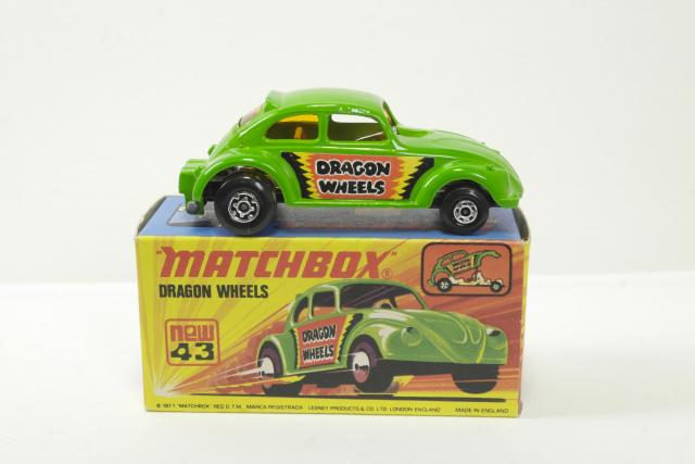 Picture Gallery for Matchbox 43d Dragon Wheels
