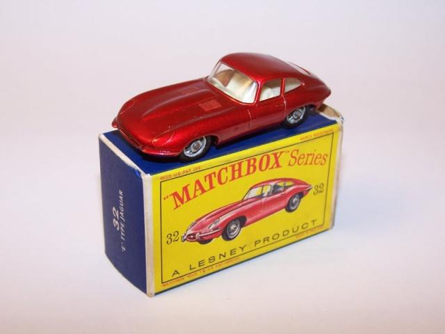 Picture Gallery for Matchbox 32b Jaguar E Type