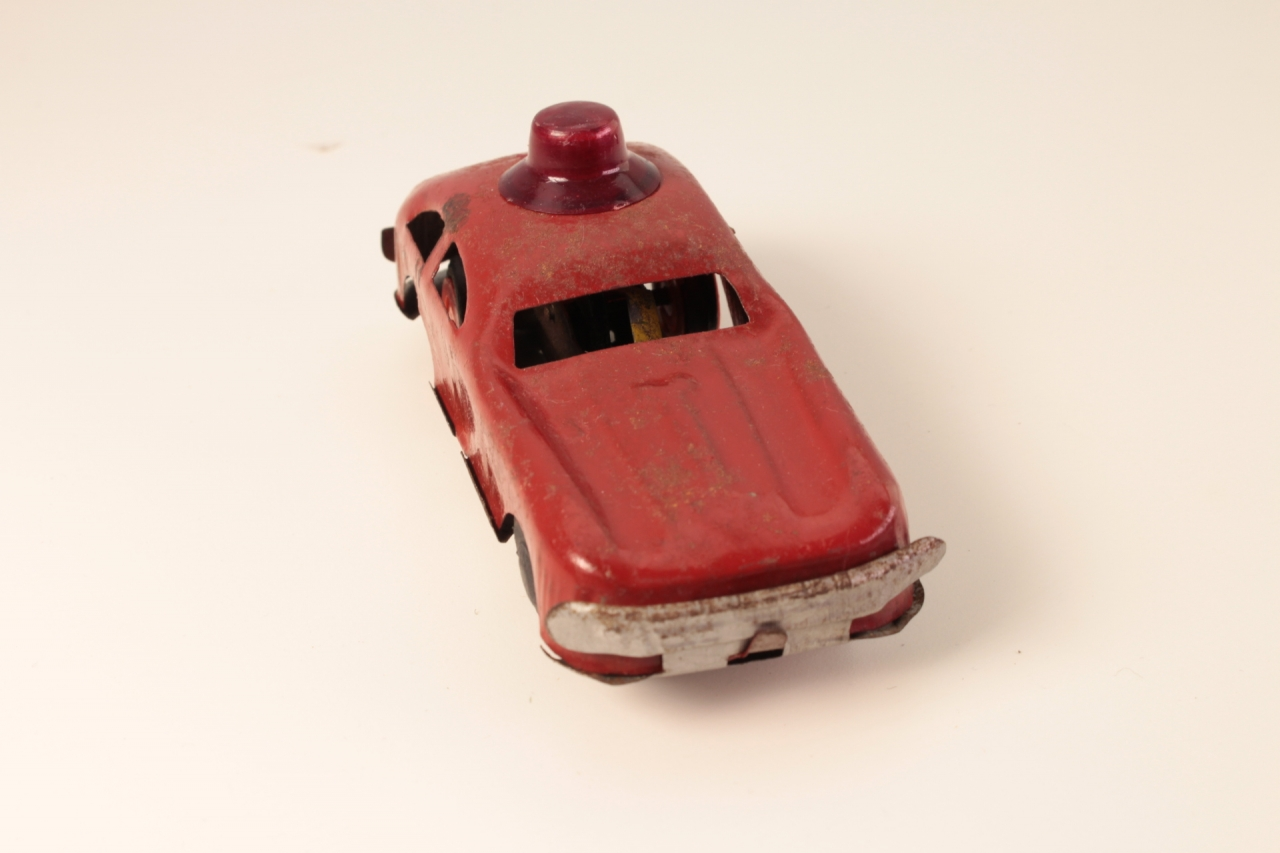 - # - Police Car - Red