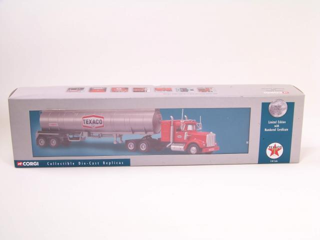 "DCP WHTE RED KENWORTH W900 72/""  FLATTOP SLEEPER CAB 1//64 60-0490 C FIRST GEAR"