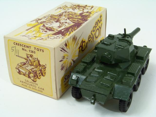 Crescent 1263, Saladin Armoured Car - Free Price Guide & Review