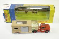 Matchbox #K-18 - Horse Box - Red/Beige