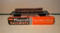 Picture Gallery for Playcraft P655 Bogie Bolster Wagon With Logs