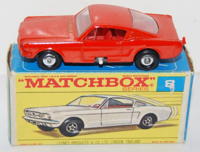 Picture Gallery for Matchbox 8e Ford Mustang