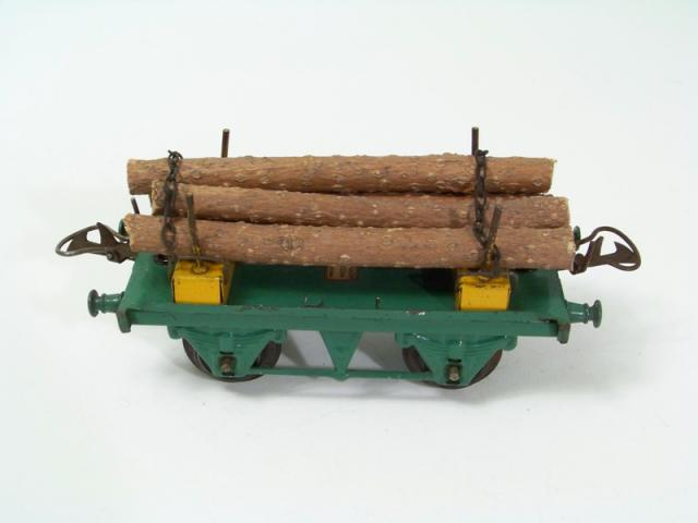 Picture Gallery for Hornby O R167 Lumber Wagon
