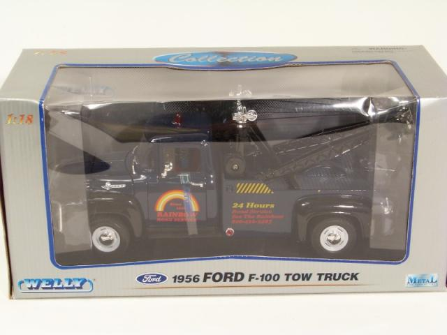 Picture Gallery for Welly 9834B 1956 Ford Tow F-100 Truck