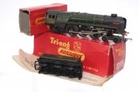 Triang #R259S - Britannia Loco - Green/Black - with smoke