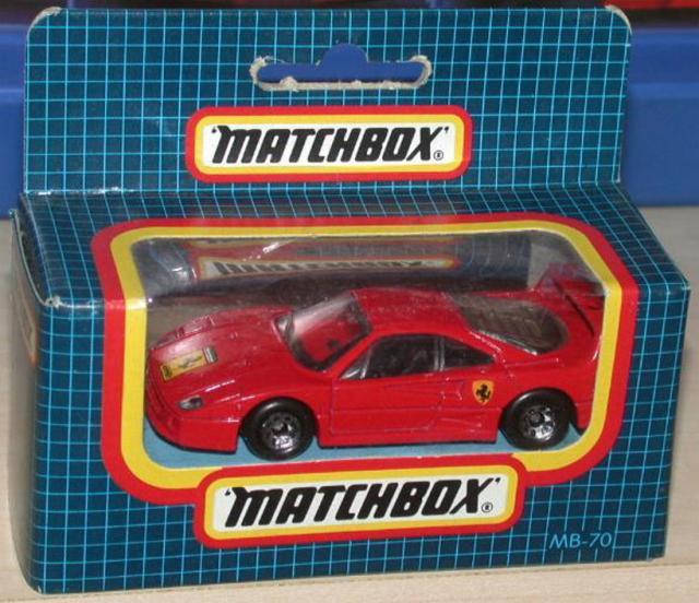 Matchbox 70f Ferrari F40 Free Price Guide Review