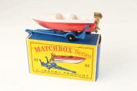 Matchbox #48b - Sports Boat - Red Cream Or White (BPW)