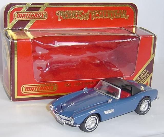 Picture Gallery for Matchbox Yesteryear Y21 1955 BMW 507