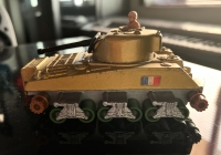 Picture Gallery for Matchbox K101 Sherman Tank