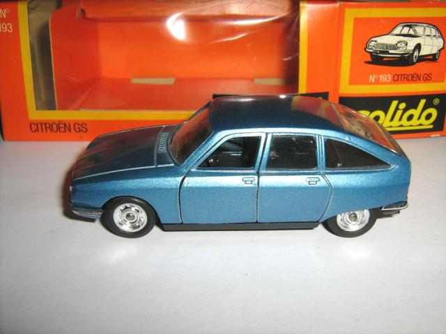 Picture Gallery for Solido 193 Citroen GS