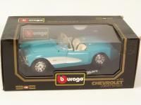 Picture Gallery for Burago 3034 1957 Chevrolet Corvette
