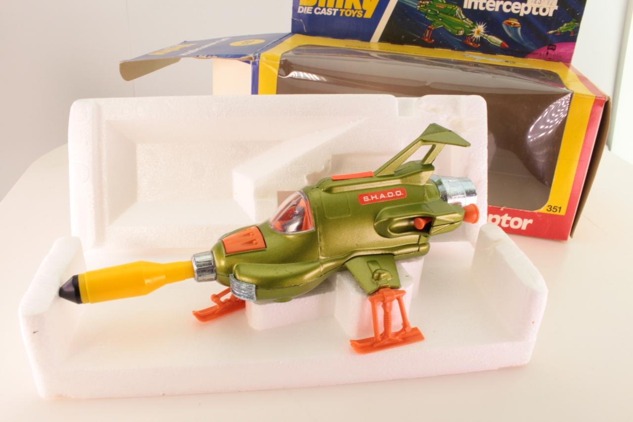 Dinky #351 - UFO Interceptor - Green