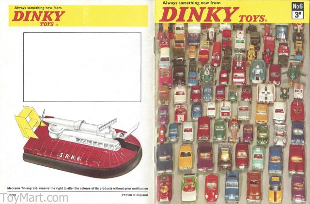 Picture Gallery for Catalogue 1970 Dinky